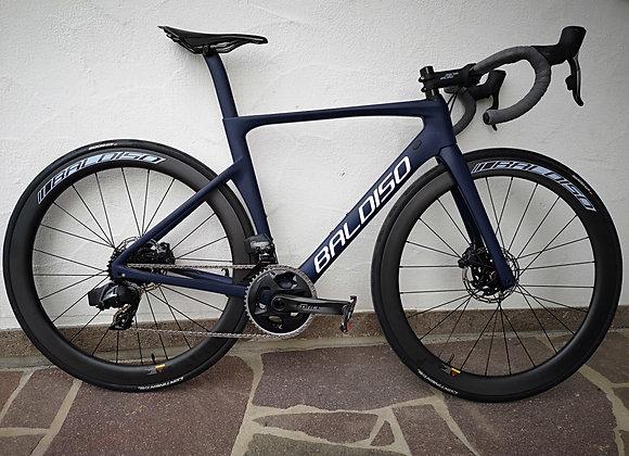 BALDISO Aero-Race Road Bike mit Sram Force + Carbon Laufräder