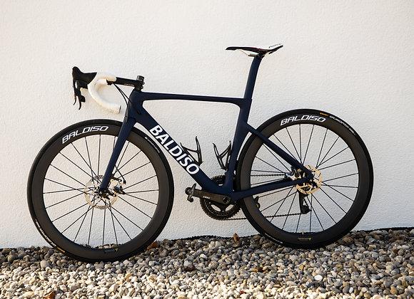 BALDISO Aero-Race Road Bike mit Shimano Ultegra Di2 + Carbon Laufräder