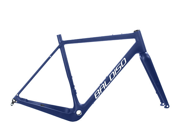 BALDISO Carbon Gravel Bike Komplettrad mit Shimano GRX 600 + Alu Laufräder