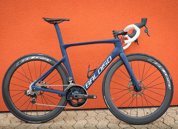 BALDISO Aero-Race Road Bike mit Sram red eTap AXS + Carbon Laufräder