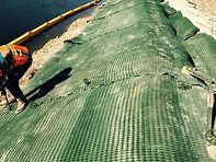 Canal bank stabilization erosion