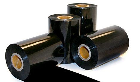 "4.33"" x 984' Platinum Wax Ribbon (Case)"