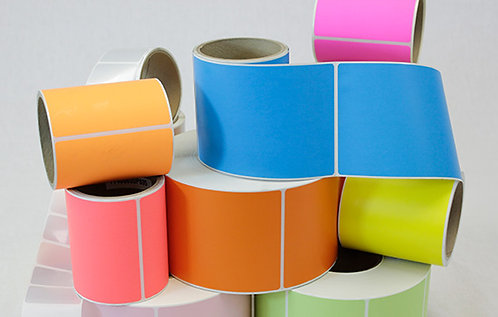 4 x 6 Thermal Transfer Label Rolls - PINK (case)