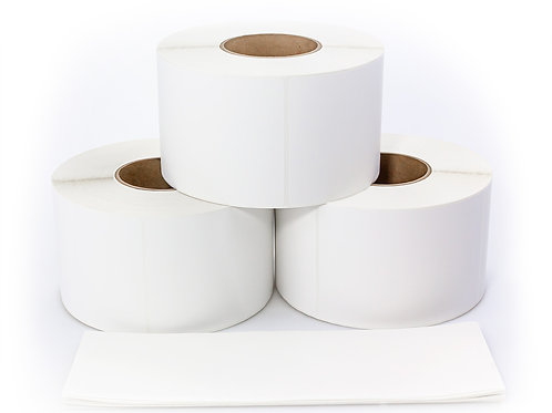 1.0 x 1.0 Thermal Transfer Removable Adhesive Label Rolls - Quote 58370 (case)