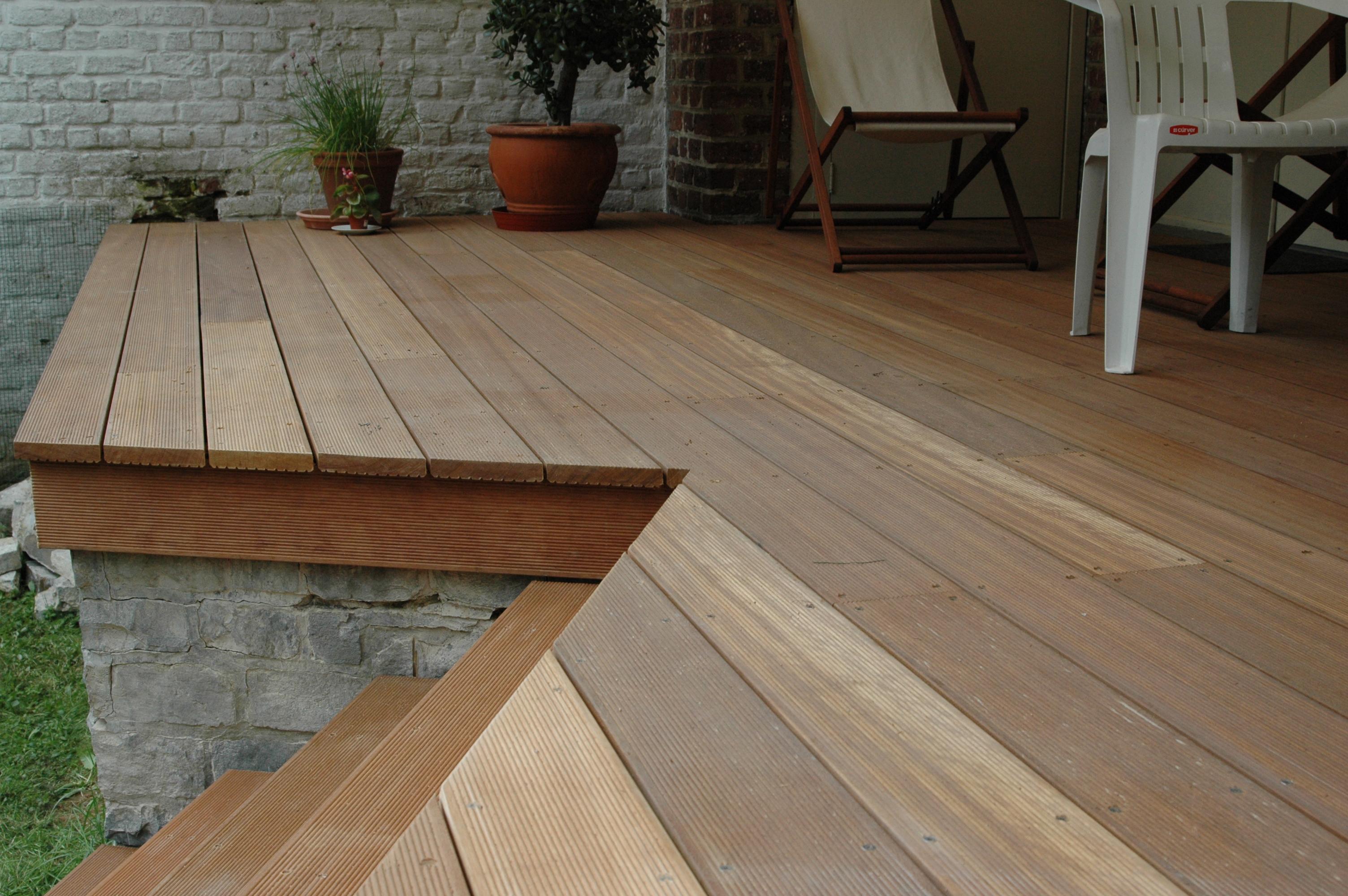 Terrasse extérieure- Woluwe