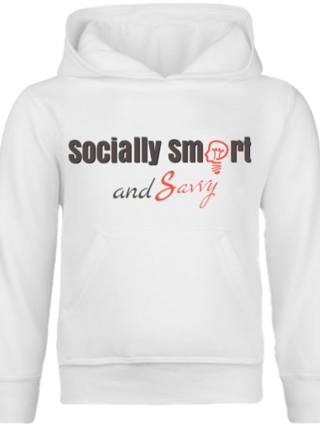 "Socially Smart and Savvy ""Get Up and Hit It"" Women's Soft Hoodie"