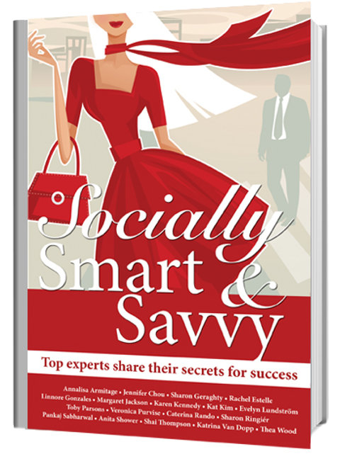 Socially Smart And Savvy Book