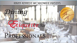 Dining manners etiquette adults Atlanta