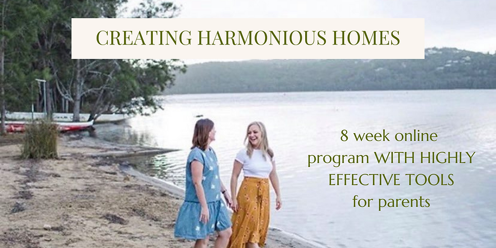 8 week online program with highly effective tools for parents!