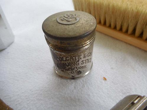 #M8 Colgate shaving stick tin