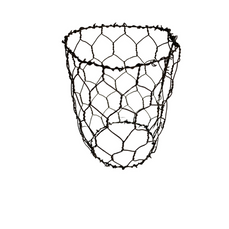 WIRE TEALIGHT CAGE