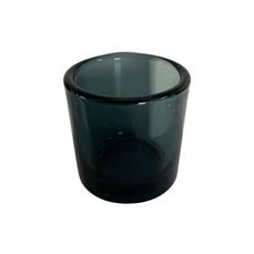 GLASS CHARCOAL TEALIGHT