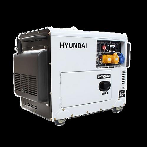 6.5kVA Hyundai DHY6000SE (Remote Start)