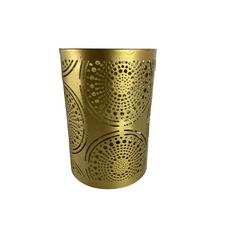 GOLD DETAIL VOTIVE (14.5cm x 10cm)
