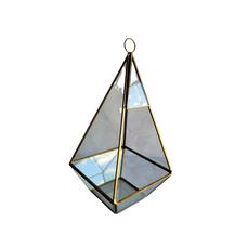 GOLD PYRAMID TERRARIUM (25cm)