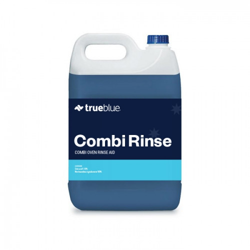 Combi oven rinse aid