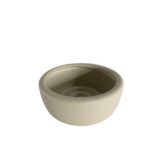 WHITE CERAMIC OH FLORA DISH (5.5cmx13cm)