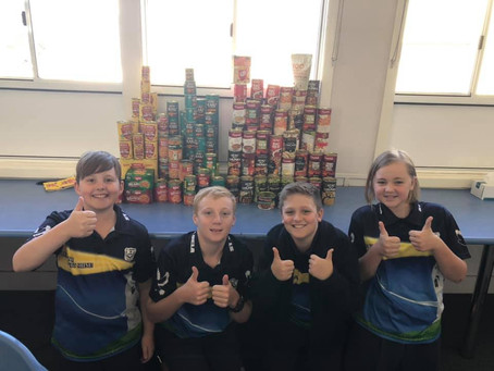 YEAR 6 OUTREACH GROUP - WINTER SOUP APPEAL