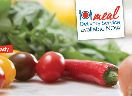 Meal Delivery now Available!