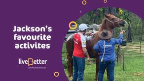 Jackson's Favourite Activities