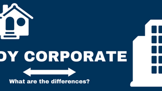 Body Corporate for a duplex, is there a difference?