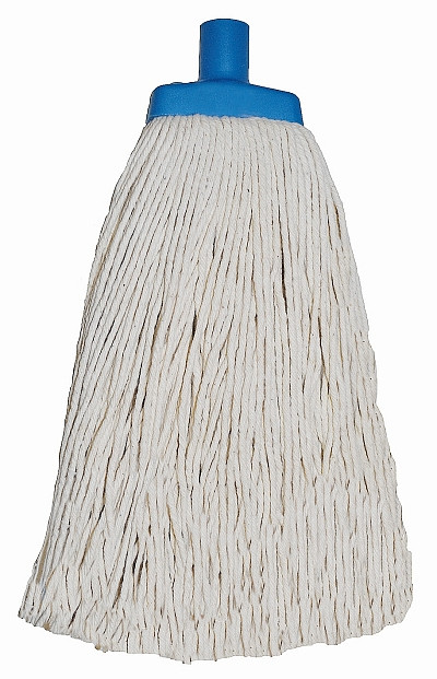 Contractor Mop Blue Plastic Ferrule