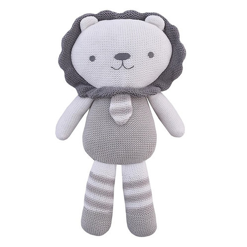 AUSTIN THE LION KNITTED TOY