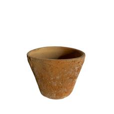 SMALL RUSTIC TERRACOTTA POT (8cm x 10cm)