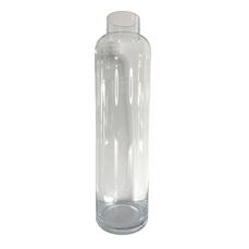 TALL GLASS VASE (38.5cm x 10cm)