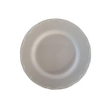 WHITE FLORENCE PLATE MEDIUM (26.5 cm)