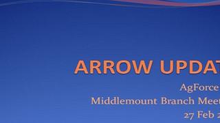 Arrow Project Update