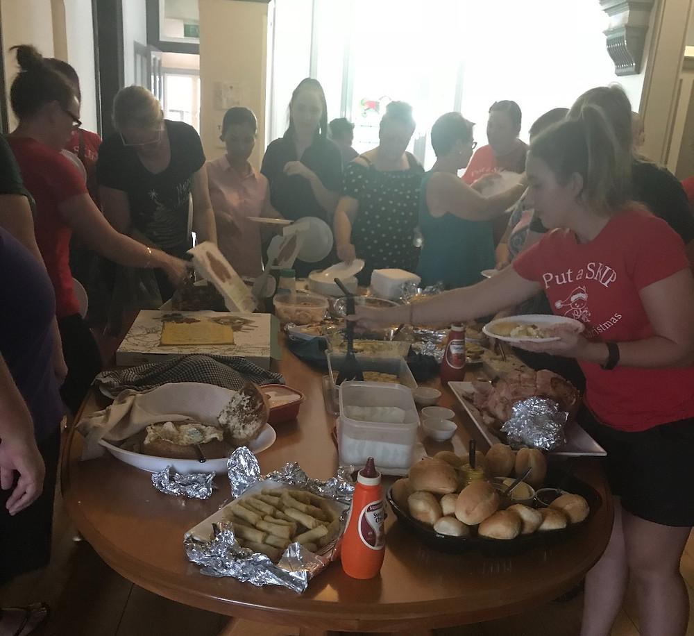 food, fun and secret santa