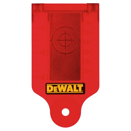 Laser Target Card RED