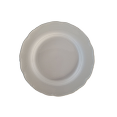 WHITE FLORENCE PLATE LARGE (30cm)