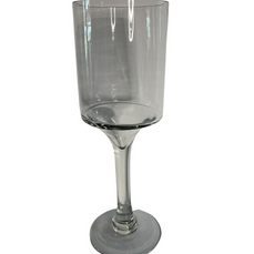GLASS TOWER CANDLE HOLDER (30cm x 10cm)