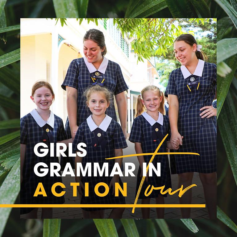 Girls Grammar in Action Tour