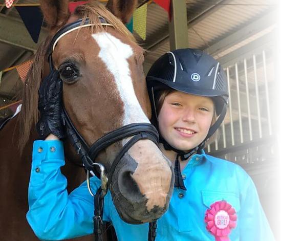 Horse Therapy Granlea Riding School Queensland Rockhampton