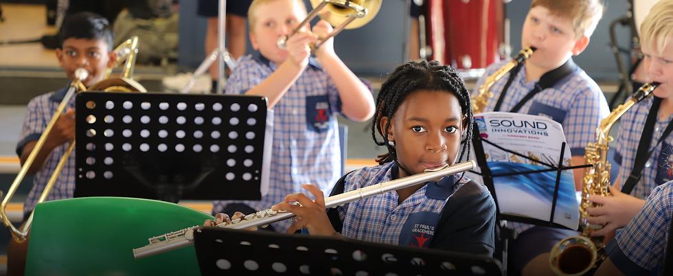 St Paul's Catholic Primary School Instrumental program