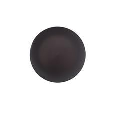 BLACK BREAD PLATE (20cm)