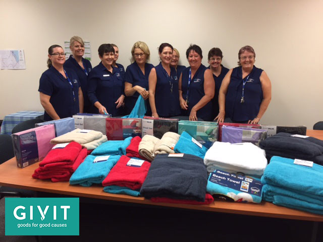 Thank you GIVIT for helping the community through Cyclone Debbie!