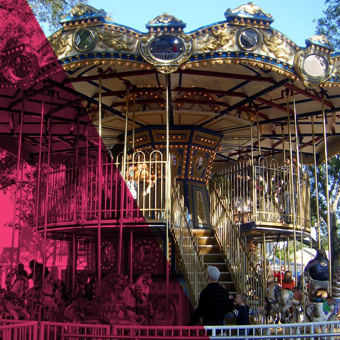 Royal Double Decker Carousel