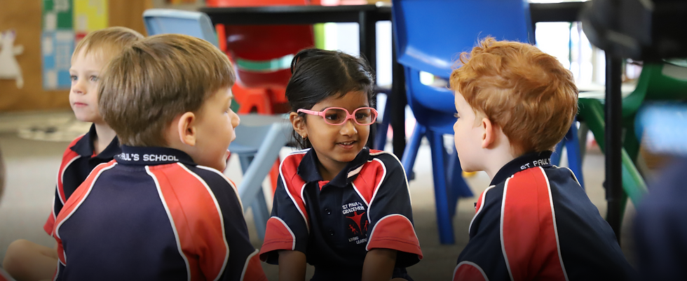 St Paul's Catholic Primary School Peer Support