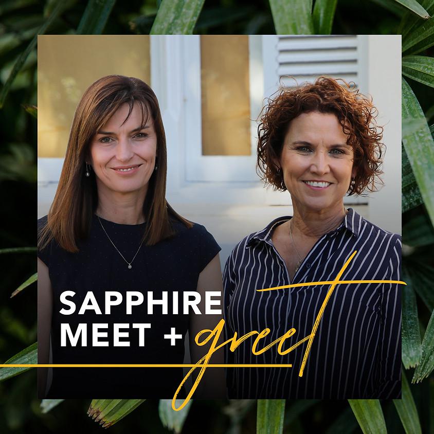 Sapphire Meet + Greet Lunch