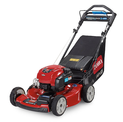 """Toro 22"""" (56 cm) Recycler® All-Wheel Drive Personal Pace®"""