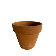 MEDIUM TERRACOTTA POT (11.5cm x 12.5cm)