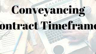 Contract Timeframes