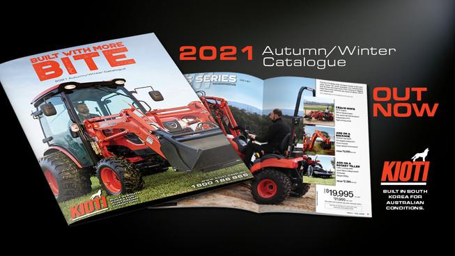 Kioti Autumn Winter 2021 Catalogue