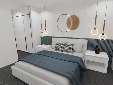 Unit Type A Main Bedroom