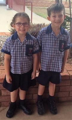 Grade 1 - 6 Day Uniform