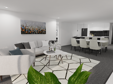 Unit Type B Living Room